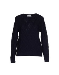 Montgomery Sweaters Dark Blue