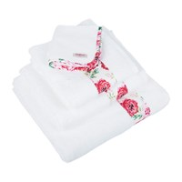 Cath Kidston Antique Rose Band Towel Bath Sheet