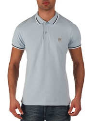 Bench Competitor B Polo Shirt Blue