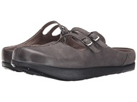 Earth Kharma Kalso Dark Grey Vintage Women's Clog Shoes Gray