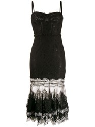 Jonathan Simkhai Lace Dress Black