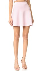 Cushnie Et Ochs Mini Circle Skirt Light Pink