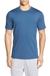 Men's Bpm Fueled By Zella 'Celsian' Moisture Wicking T Shirt Blue Magnesium