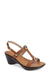 Athena Alexander Women's Pettra Sandal Tan Faux Leather
