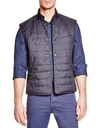 The Men's Store At Bloomingdale's Quilted Puffer Vest Heather Navy