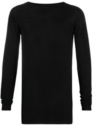 Rick Owens Crew Neck Knitted Top 60