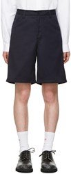 Acne Studios Navy Allan Shorts