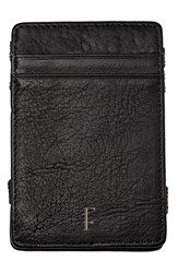 Cathy's Concepts 'Magic' Monogram Leather Wallet Black F