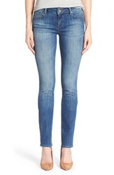 Women's Mavi Jeans 'Kerry' Stretch Straight Leg Jeans Indigo Used Portland Online Only