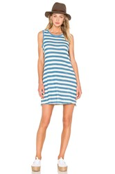 Current Elliott The Muscle Tee Dress Blue