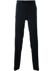 Valentino Straight Leg Trousers Blue