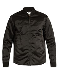 Acne Studios Mylon Bomber Jacket Black
