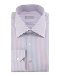 Stefano Ricci Striped Woven Dress Shirt