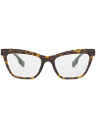 Burberry Rectangle Frame Glasses 60