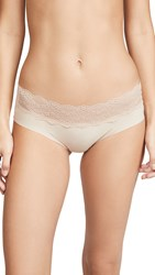 B.Tempt'd By Wacoal B. Bare Hipster Panties Au Natural