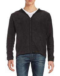 Strellson Hooded Knit Cardigan Black