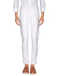 No Lab Casual Pants White