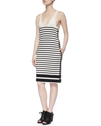 Rag And Bone Rag And Bone Avila Striped Racerback Dress