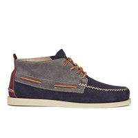 Sperry Men's A O 2 Eye Wedge Suede Chukka Boots Dark Grey