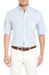 Peter Millar Men's Crown Cool Glen Regular Fit Short Sleeve Sport Shirt
