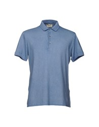 Capobianco Polo Shirts Slate Blue