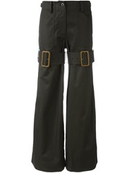Sacai Military Trousers Green