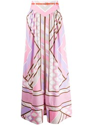 Emilio Pucci Belted Pleated Skirt 60