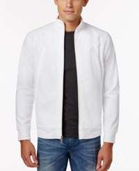 Inc International Concepts Men's Insert Jacket Only At Macy's White Pure