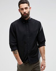 Only And Sons Oxford Shirt Black