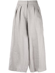 Bambah Safari Midi Pants Grey