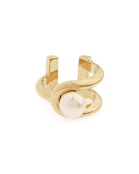 Gold Plated Pearly Ring Jason Wu