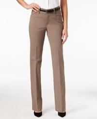 Lee Platinum Madelyn Straight Leg Trousers Falcon Heather