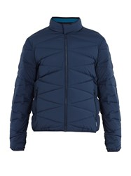 Orlebar Brown Newland Quilted Down Jacket Navy