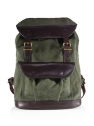 Filson Rugged Canvas Backpack Otter Green