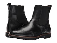 Massimo Matteo Chelsea Wing Boot Black Pull On Boots