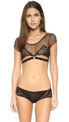 Honeydew Intimates Nichole Lace Bralette Black