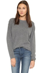 Earnest Sewn Dylan Boyfriend Sweater Grey