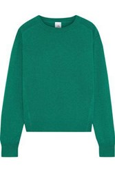 Iris And Ink Woman Encelia Cashmere Sweater Green