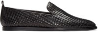 Hudson Black Woven Ipanema Loafers