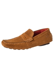 Melvin And Hamilton Driver Moccasins Tan Brown