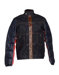 Mostly Heard Rarely Seen Down Jackets Blue