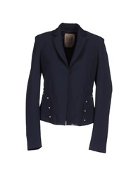 Betty Blue Suits And Jackets Blazers Women Dark Blue