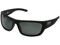 Spy Optic Dega Soft Matte Black Happy Gray Green Polar Athletic Performance Sport Sunglasses