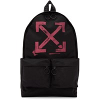 Off White Black Arrows Backpack