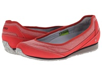 Ahnu Magnolia Cranberry Women's Flat Shoes Red