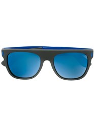 Retrosuperfuture 'Flat Top Francis Squadra' Sunglasses Black