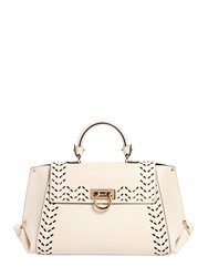 Salvatore Ferragamo Medium Sofia Perforated Leather Bag