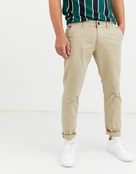 Esprit Slim Fit Chino In Beige
