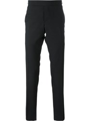 Thom Browne Slim Fit Tailored Trousers Blue