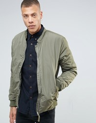 Selected Homme Bomber Jacket Dusty Olive Green